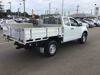 2016 Isuzu D-MAX MY15.5 SX Space Cab White 5 Speed Sports Automatic Cab Chassis
