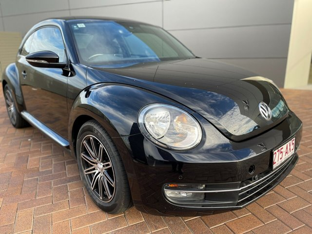 Used Volkswagen Beetle 1L MY14 Coupe DSG Toowoomba, 2013 Volkswagen Beetle 1L MY14 Coupe DSG 7 Speed Sports Automatic Dual Clutch Liftback