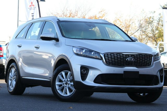 Used Kia Sorento UM MY18 Si AWD Essendon North, 2018 Kia Sorento UM MY18 Si AWD Silver, Chrome 8 Speed Sports Automatic Wagon