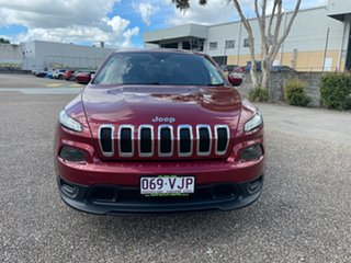 2014 Jeep Cherokee KL Sport (4x2) Red 9 Speed Automatic Wagon