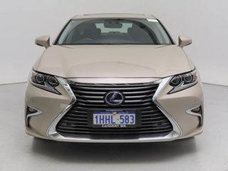 2017 Lexus ES300H AVV60R MY16 Sports Luxury Hybrid Grey 6 Speed CVT Auto Sequential Sedan.