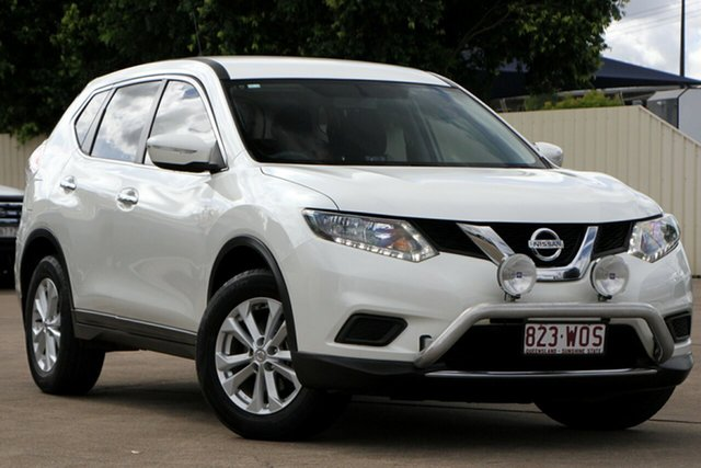 Used Nissan X-Trail T32 ST X-tronic 4WD Bundamba, 2016 Nissan X-Trail T32 ST X-tronic 4WD Ivory Pearl 7 Speed Constant Variable Wagon