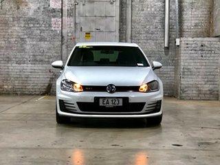 2013 Volkswagen Golf VII MY14 GTI DSG White 6 Speed Sports Automatic Dual Clutch Hatchback.