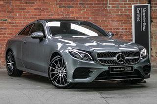 2020 Mercedes-Benz E-Class C238 800+050MY E300 9G-Tronic PLUS Selenite Grey 9 Speed Sports Automatic.