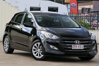 2015 Hyundai i30 GD4 Series II MY16 Active Black 6 Speed Sports Automatic Hatchback.