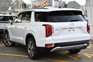 2021 Hyundai Palisade LX2.V1 MY21 Highlander AWD White Cream 8 Speed Sports Automatic Wagon.