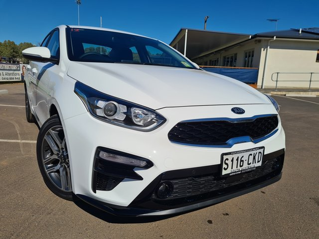Demo Kia Cerato BD MY21 Sport+ St Marys, 2020 Kia Cerato BD MY21 Sport+ Clear White 6 Speed Sports Automatic Sedan