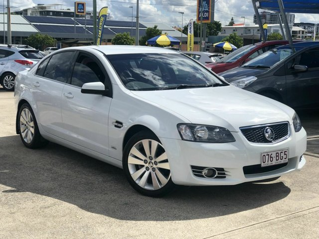 Used Holden Commodore VE II MY12.5 Z Series Chermside, 2012 Holden Commodore VE II MY12.5 Z Series White 6 Speed Sports Automatic Sedan