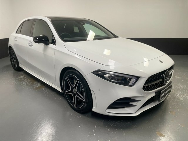 Used Mercedes-Benz A-Class W177 A250 DCT 4MATIC Limited Edition Newcastle West, 2018 Mercedes-Benz A-Class W177 A250 DCT 4MATIC Limited Edition White 7 Speed