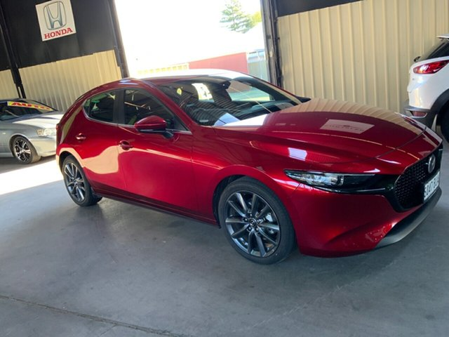 Used Mazda 3 BP G20 Evolve Hampstead Gardens, 2019 Mazda 3 BP G20 Evolve Red 6 Speed Automatic Sedan