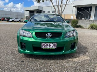 2010 Holden Commodore VE II SV6 Green Automatic Utility