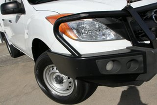 2013 Mazda BT-50 UP0YF1 XT 4x2 Hi-Rider White 6 Speed Manual Cab Chassis.