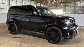 2007 Dodge Nitro KA MY07 SX Black 5 Speed Sports Automatic Wagon.