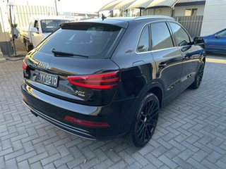 2012 Audi Q3 8U MY13 TFSI S Tronic Quattro Black 7 Speed Sports Automatic Dual Clutch Wagon