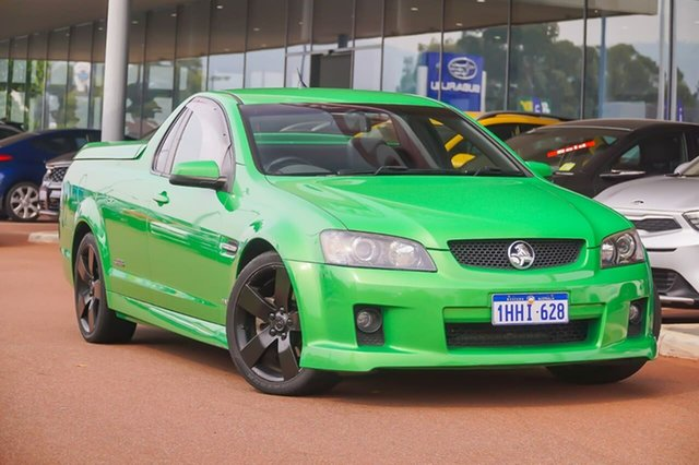 Used Holden Ute VE SS V Gosnells, 2008 Holden Ute VE SS V Green 6 Speed Sports Automatic Utility