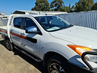2014 Mazda BT-50 UP0YF1 GT Cool White 6 Speed Sports Automatic Utility