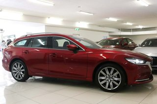 2021 Mazda 6 GL1033 Atenza SKYACTIV-Drive Red 6 Speed Sports Automatic Wagon.