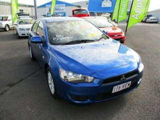 2011 Mitsubishi Lancer SX Blue 5 Speed Manual Sedan.