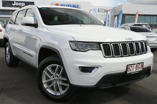 2017 Jeep Grand Cherokee WK MY18 Laredo White 8 Speed Sports Automatic Wagon.