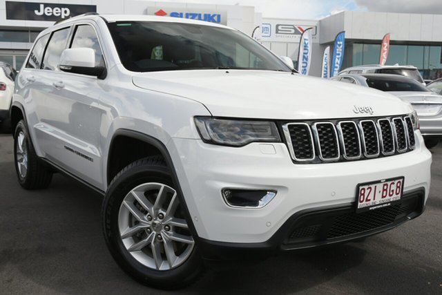 Used Jeep Grand Cherokee WK MY18 Laredo Aspley, 2017 Jeep Grand Cherokee WK MY18 Laredo White 8 Speed Sports Automatic Wagon