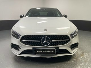 2018 Mercedes-Benz A-Class W177 A250 DCT 4MATIC Limited Edition White 7 Speed.