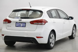 2013 Kia Cerato YD MY14 S White 6 Speed Sports Automatic Hatchback