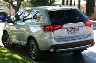 2015 Mitsubishi Outlander ZK MY16 LS 2WD Silver 6 Speed Constant Variable Wagon.