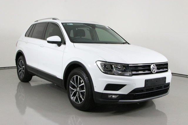 Used Volkswagen Tiguan 5NA MY18 110 TDI Comfortline Bentley, 2018 Volkswagen Tiguan 5NA MY18 110 TDI Comfortline White 7 Speed Auto Direct Shift Wagon