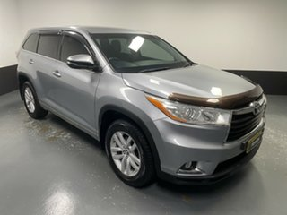 2016 Toyota Kluger GSU50R GX 2WD Silver 6 Speed Sports Automatic Wagon.