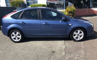 2006 Ford Focus LS LX Blue 4 Speed Sports Automatic Hatchback.