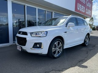 2015 Holden Captiva CG MY16 LTZ AWD White 6 Speed Sports Automatic Wagon