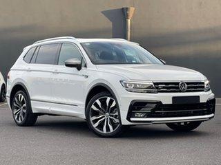 2021 Volkswagen Tiguan 5N MY21 162TSI Highline DSG 4MOTION Allspace White 7 Speed.