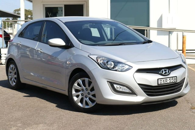 Used Hyundai i30 GD Active North Gosford, 2013 Hyundai i30 GD Active Silver 6 Speed Sports Automatic Hatchback
