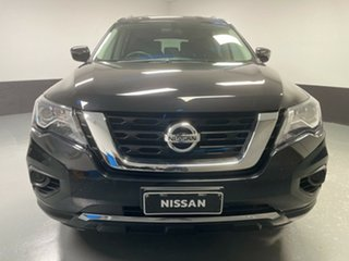 2018 Nissan Pathfinder R52 Series II MY17 ST X-tronic 2WD Diamond Black 1 Speed Constant Variable.