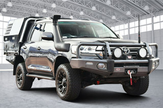 2018 Toyota Landcruiser VDJ200R VX Grey 6 Speed Sports Automatic Wagon.