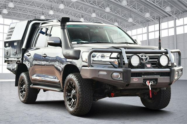 Used Toyota Landcruiser VDJ200R VX Victoria Park, 2018 Toyota Landcruiser VDJ200R VX Grey 6 Speed Sports Automatic Wagon