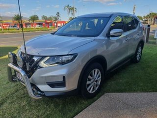 2018 Nissan X-Trail T32 Series 2 ST (4WD) Silver Continuous Variable Wagon.