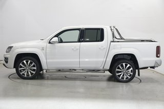 2019 Volkswagen Amarok 2H MY20 TDI580 4MOTION Perm Ultimate White 8 Speed Automatic Utility.