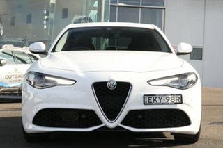 2018 Alfa Romeo Giulia Veloce White 8 Speed Sports Automatic Sedan