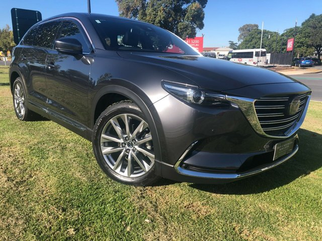 Used Mazda CX-9 TC Azami SKYACTIV-Drive Hindmarsh, 2017 Mazda CX-9 TC Azami SKYACTIV-Drive Machine Grey 6 Speed Sports Automatic Wagon