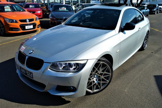Used BMW 3 Series E92 MY1112 320d Steptronic Seaford, 2013 BMW 3 Series E92 MY1112 320d Steptronic Silver 6 Speed Sports Automatic Coupe