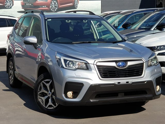 Used Subaru Forester S5 MY19 2.5i CVT AWD Seaford, 2018 Subaru Forester S5 MY19 2.5i CVT AWD Silver 7 Speed Constant Variable Wagon