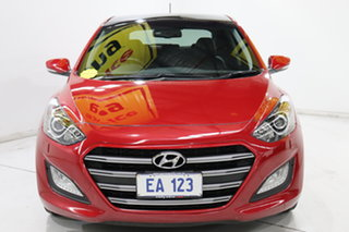 2017 Hyundai i30 GD5 Series II MY17 SR Premium Red 6 Speed Manual Hatchback.