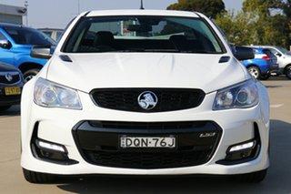 2017 Holden Ute VF II MY17 SS V Ute Redline Heron White 6 Speed Sports Automatic Utility