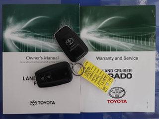 2018 Toyota Landcruiser Prado GDJ150R MY18 GX (4x4) Silver 6 Speed Automatic Wagon