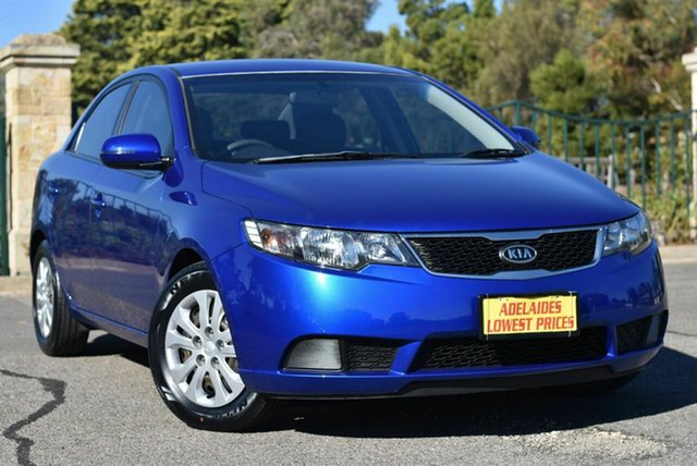 Used Kia Cerato TD MY12 SI Morphett Vale, 2012 Kia Cerato TD MY12 SI Blue 6 Speed Sports Automatic Sedan