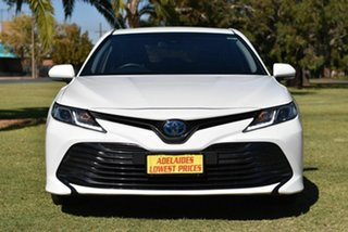 2018 Toyota Camry AXVH71R Ascent White 6 Speed Constant Variable Sedan Hybrid.