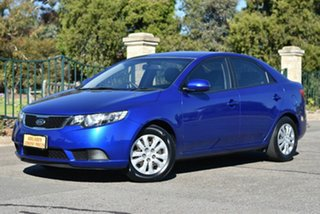 2012 Kia Cerato TD MY12 SI Blue 6 Speed Sports Automatic Sedan.
