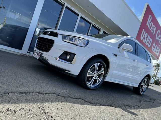 Used Holden Captiva CG MY16 LTZ AWD Bundaberg, 2015 Holden Captiva CG MY16 LTZ AWD White 6 Speed Sports Automatic Wagon