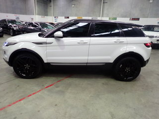 2014 Land Rover Evoque LV MY14 SD4 Pure Atlas White & Black Roof 9 Speed Automatic Wagon